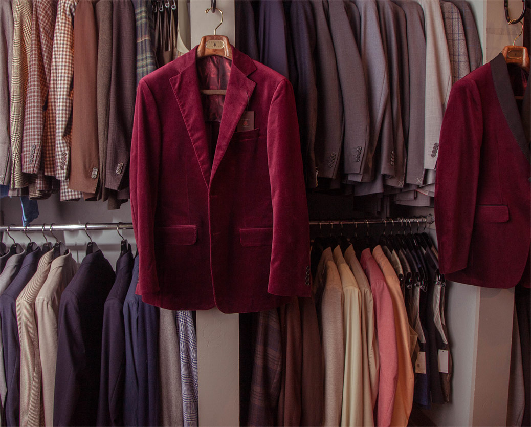 Men's Clothier Boutique